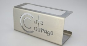 Bierdeckelhalter Cafe Courage